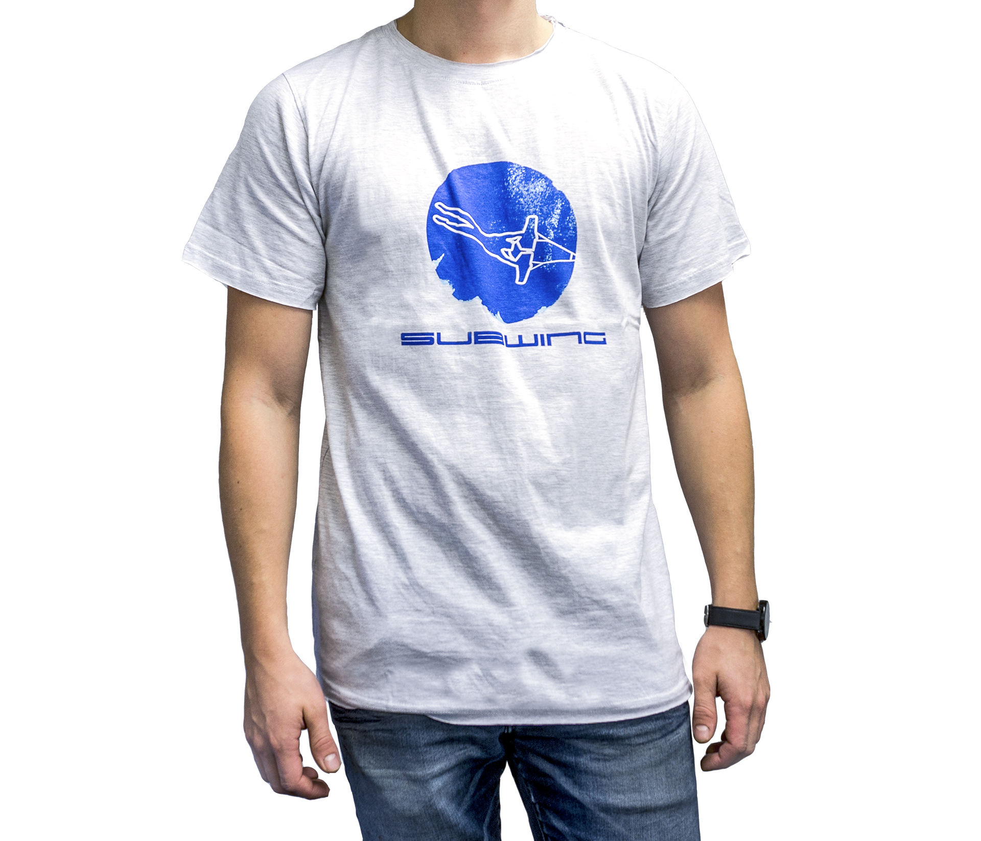 T-shirt with Subwing logo for men