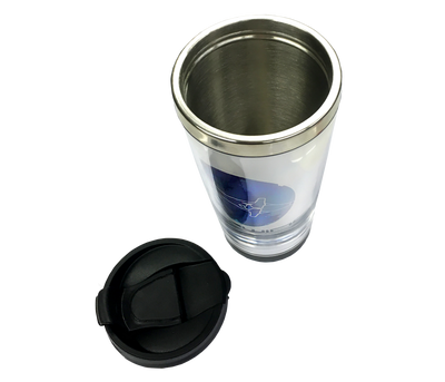 Subwing thermal travel mug open top