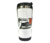 Subwing thermal travel mug closed with black and red logo