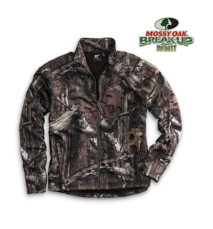 White Bear full zip CAMO performance jacket