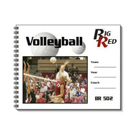 BIG RED VOLLEYBALL SCOREBOOK 23G