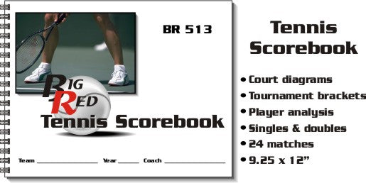 TENNIS STAT BOOK
