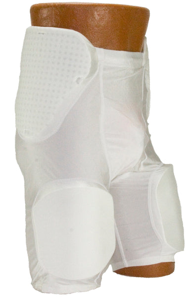 Intelligent Shock Absorption Spandex 3 pad 2 pocket Girdle
