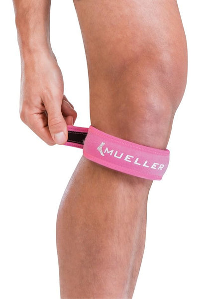 Jumpers Knee Strap Pink