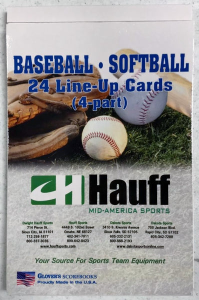 LINE-UP CARDS 24 GAME