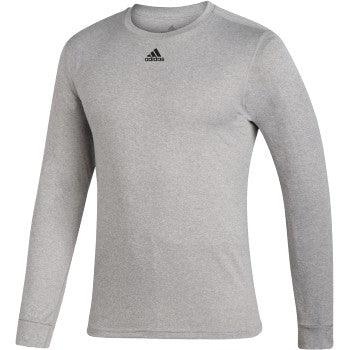 Adidas Creator long sleeve tee - Heather/Black