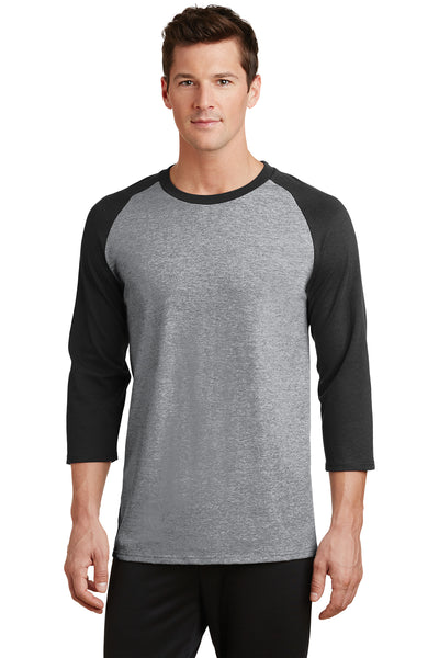 Port  Company Core Blend 3/4-Sleeve Raglan Tee