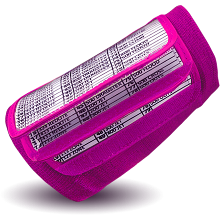 Five View Wrist Coach (NEON PINK)
