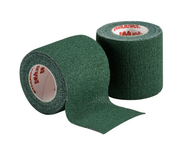 "2"" COHESIVE SPATTING TAPE GREEN ROLL"