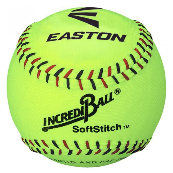 "12"" SOFT STITCH BALL YELLOW"