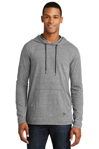 New Era Tri-Blend Performance Pullover Hoodie Tee