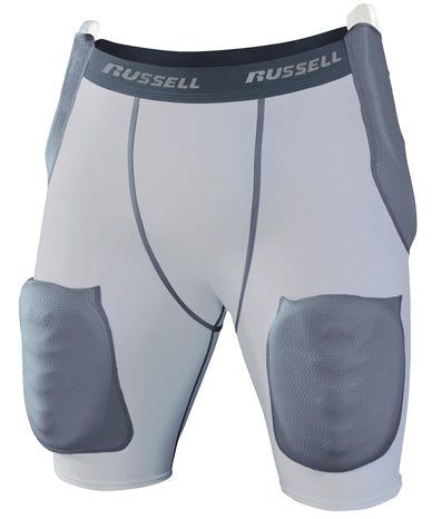 GIRDLE RUSSELL INTEGRATED 5-PAD 3X