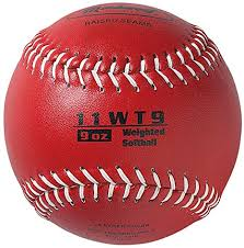 WEIGHTED SOFTBALL 9oz