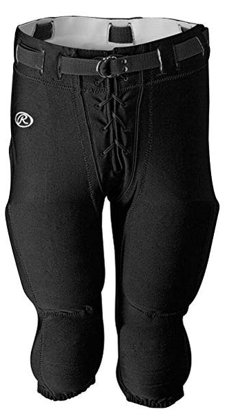FOOTBALL GAME PANT LYCRA SLOTTED XS