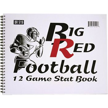 BIG RED FOOTBALL STAT BOOK