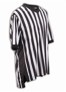 OFFICIALS JERSEY V-NECK W/SIDE PANELS 3X