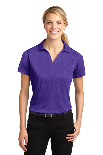 Sport-Tek Ladies Heather Contender Polo