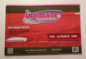 ULTIMATE 100 GAME SCOREBOOK