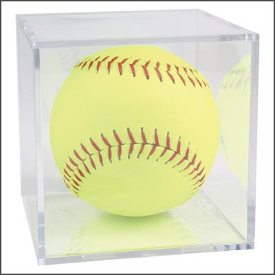 SOFTBALL DISPLAY CUBE