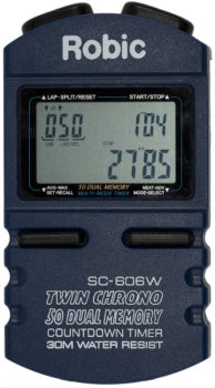 STOPWATCH ROBIC 50 DUAL MEMORY