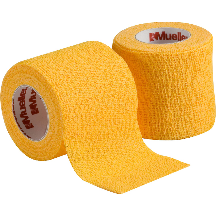 "2"" COHESIVE SPATTING TAPE GOLD ROLL"