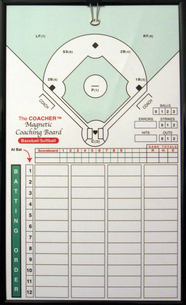 BASEBALL CLIPBOARD MAGNETIC