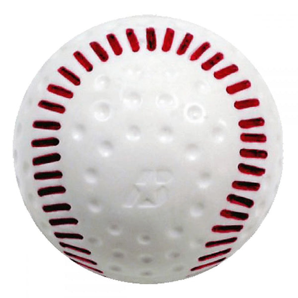 DIMPLED SOFT SOFTBALL WITH SEAMS