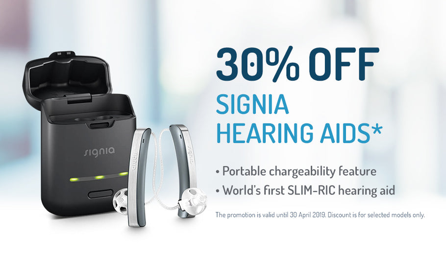30% OFF Signia Hearing Aids*
