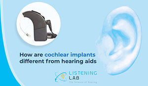 How are cochlear implants different from hearing aids