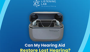 Can My Hearing Aid Restore Lost Hearing?