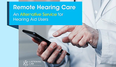 Remote Hearing Care - An Alternative Service for Hearing Aid Users