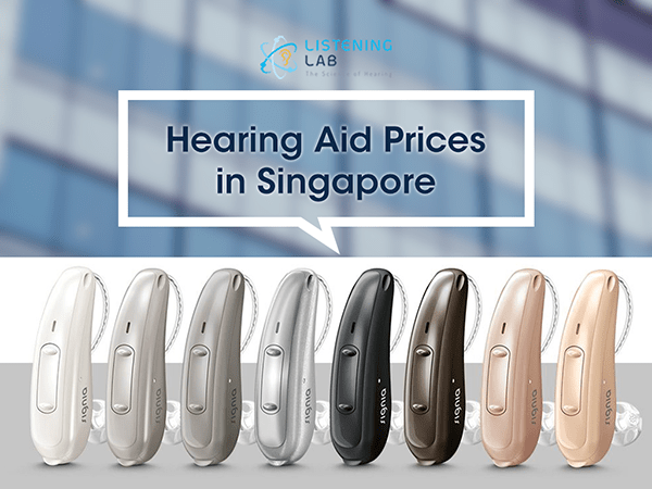 How much are the hearing aids in Singapore?