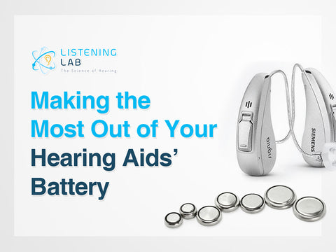 Hearing aids battery