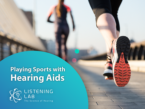 Playing sports with hearing aids