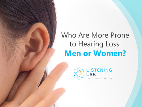 Hearing Loss in Men and Women