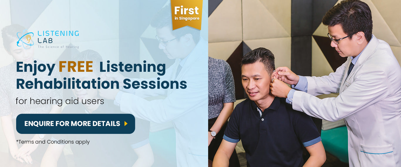 Enjoy Free  Listening Rehabilitation Sessions