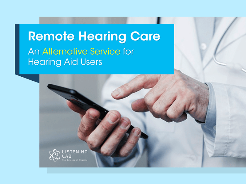 Alternative Hearing Care Service - Remote Assistance for Hearing Aid Users