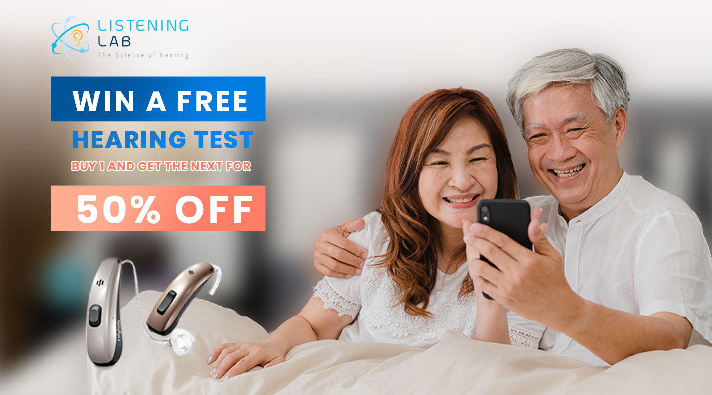 Avail a FREE hearing test
