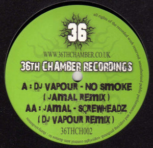 No Smoke (Jamal Remix) / Screwheadz (DJ Vapour Remix)