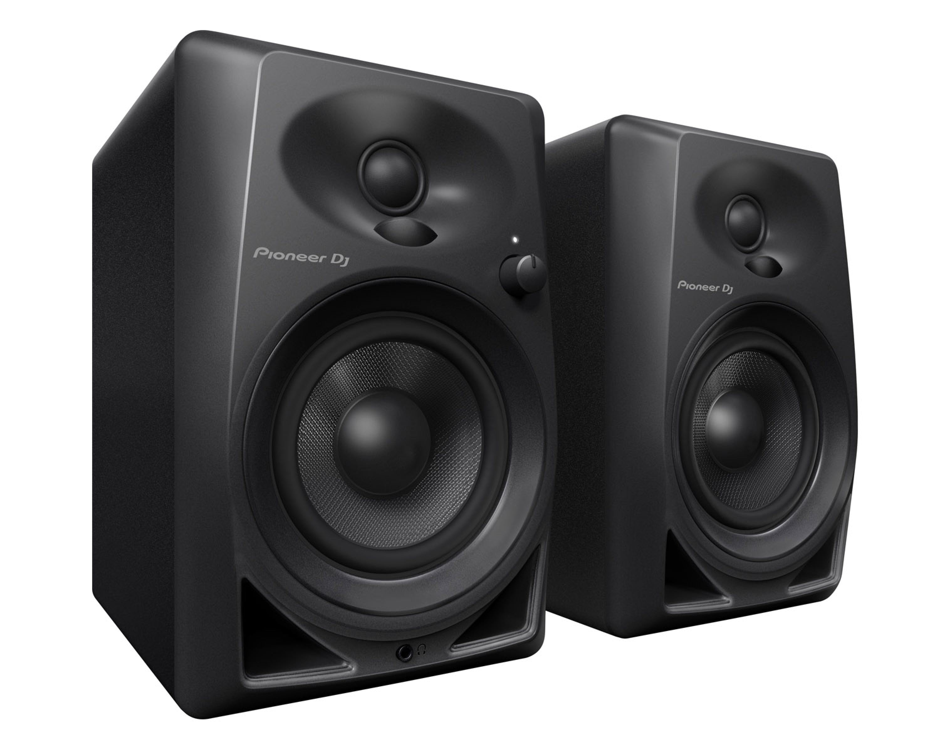"""DM40 2-Way 4"""" Active Desktop Monitor 21W PAIR BLACK. Available end of July"""