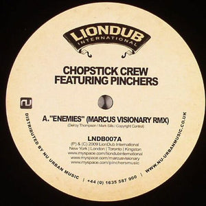 Chopstiock Crew/Marcus Visionary-Enemies/Original Article