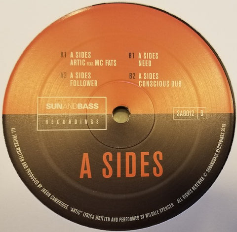 "A Sides - Fours EP 12""vinyl"