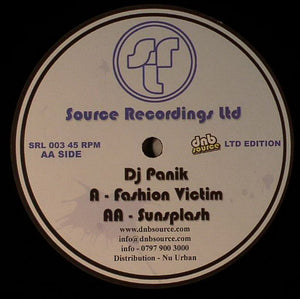 Fashion Victim / Sunsplash (SRL003/SRL004)