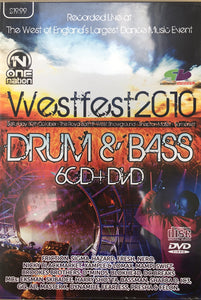 Westfest 2010 Drum & Bass CD pack
