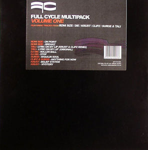 Full Cycle Multipack Vol One - RARE 5 RECORD PACK