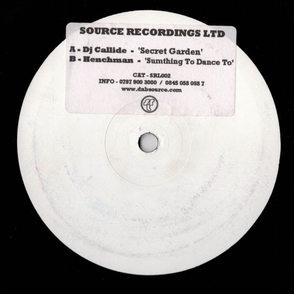 Secret Garden / Sumthing To Dance To - WHITE LABEL PROMO