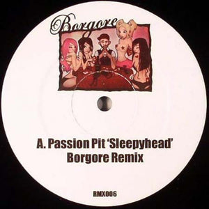 Sleepyhead (Borgore Remix) / Cry Me A River / My Favorite Tingz - VERY RARE UNOFFICIAL RELEASE