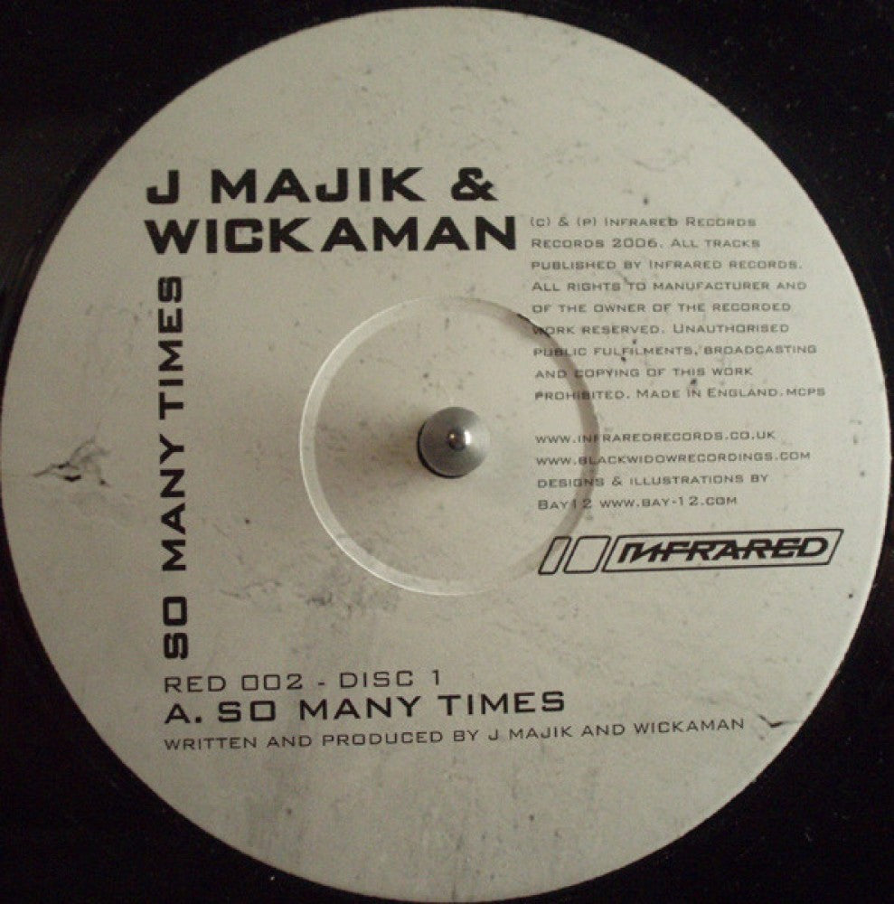 So Many Times EP - Double Vinyl