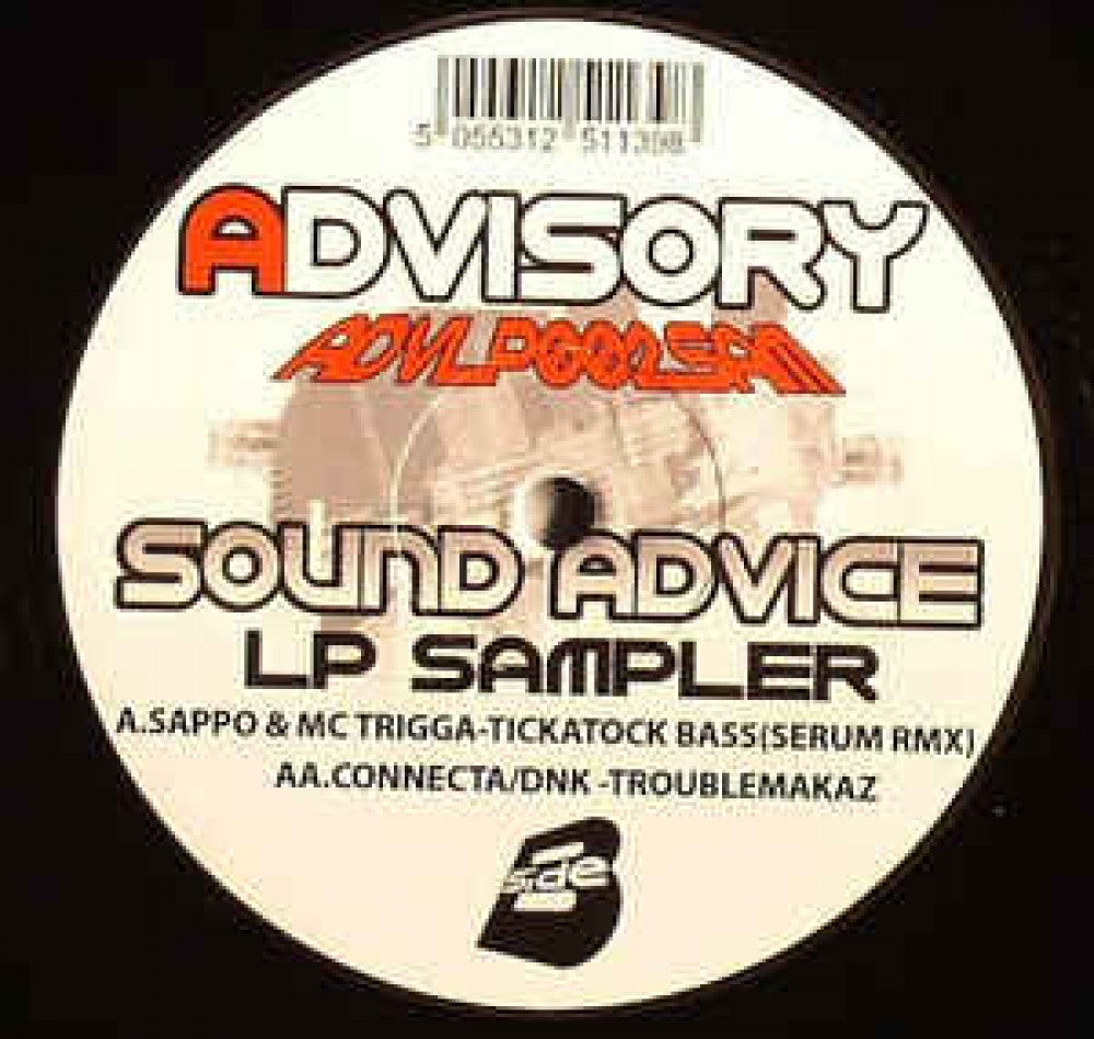 Sound Advice LP Sampler - Tickatock Bass - Serum Remix / Troublemakaz