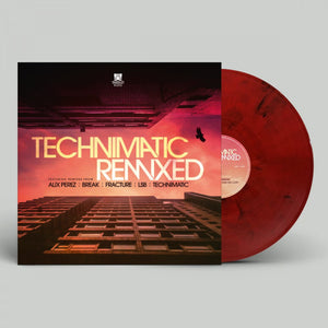 Technimatic Remixed EP - RED MARBLED VINYL